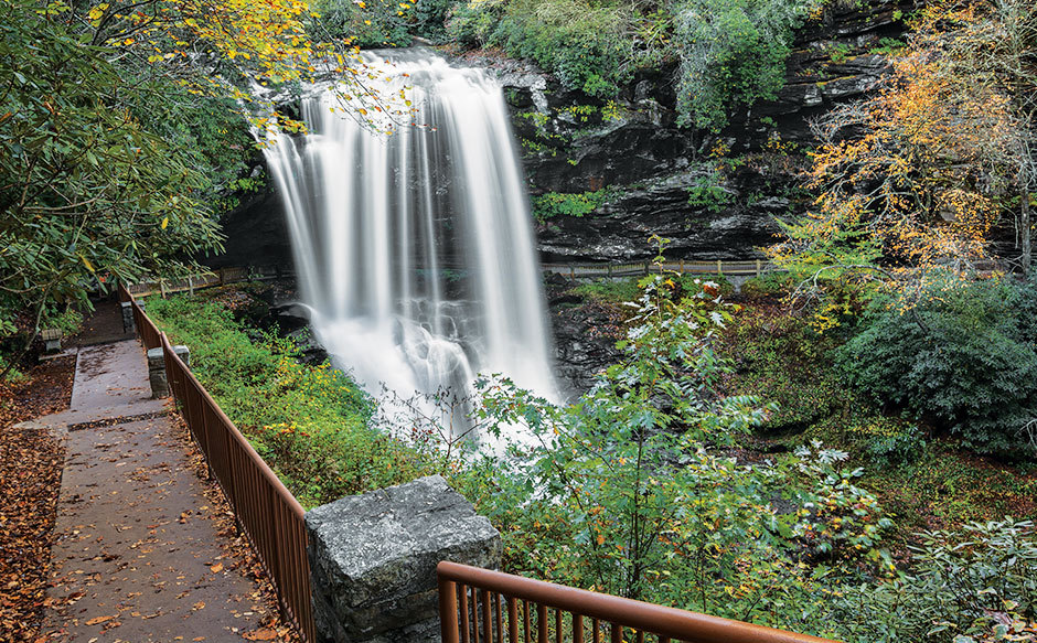 Photo of Dry Falls in Macon County, NC
